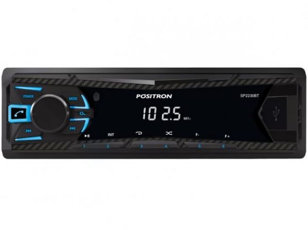 Som Automotivo Positron MP3 Player FM Bluetooth USB SP2230BT