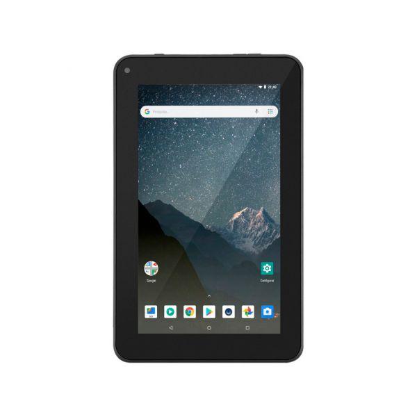 Tablet M7S Lite NB296 Multilaser Quad Core Wi-Fi 1GB Ram 8GB Memória Tela 7 Pol. Android 8.1 Preto Chip Claro Incluso