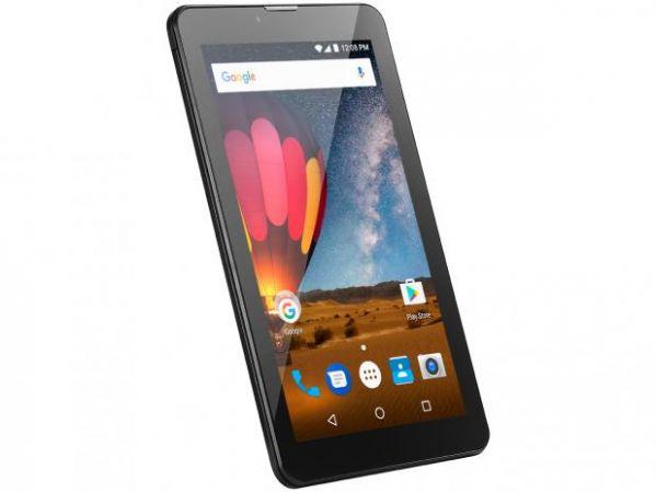 Tablet Multilaser M7 Plus NB269 3G Tela 7 Processador Quad Core Câmera 2MP Frontal 1.3MP Preto