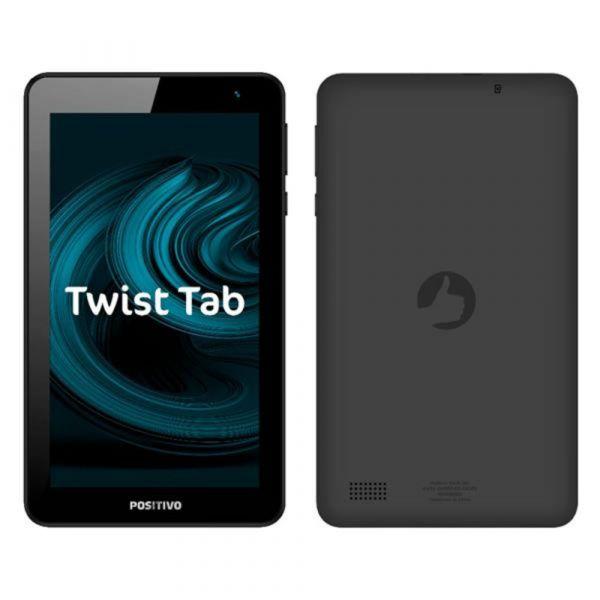 Tablet Positivo Twist Tab T770 Tela LCD Touch 7 Processador Quadcore 1gb De Memória Ram Cinza