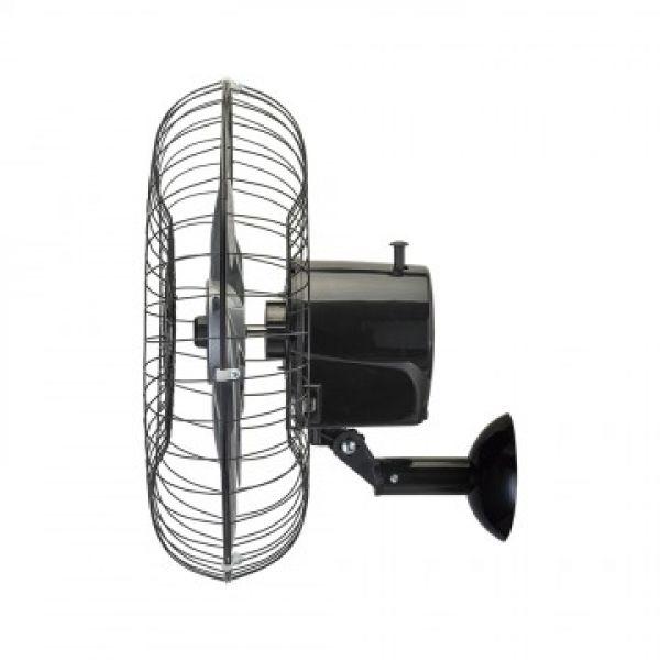 Ventilador de Parede Ventisol Steel 50 cm com 6 Pás Preto
