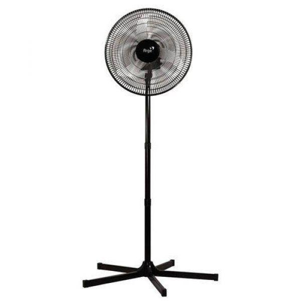 Ventilador Stylo Coluna Preto 220V Grade 50cm Preta 140W Arge