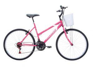 Bicicleta Houston Foxer Hammer Aro 26 Pink
