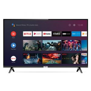 Android Tv Led 43 Tcl 43s6500 Bluetooth, Controle Remoto Com Comando De Voz E Google Assistant