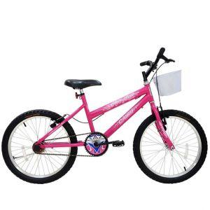 Bicicleta Aro 20 Cairu Star Girl Feminina Rosa