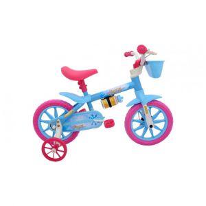 Bicicleta Infantil Cairu Aqua2 Aro 12 Feminina Rosa/Azul