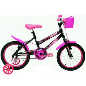 Bicicleta Cairu C-High MTB Feminina Infantil Aro 16