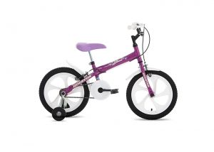 Bicicleta Houston Bloom Aro 16 Roxa