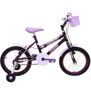 Bicicleta Infantil Aro 16 Cairu Fadinha Feminina Personal Lilás
