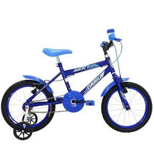 Bicicleta Infantil Cairu Racer Kids Aro 16 Masculina Azul