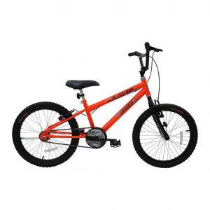 Bicicleta Infantil Aro 20 Cairu Reb Flash Boy MTB Freios V. Break Laranja/Neon