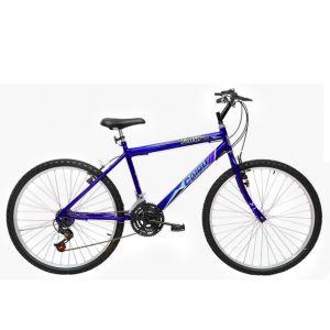 Bicicleta Masculina Aro 24 21 Marchas Flash Azul