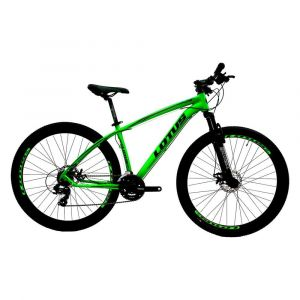 Bicicleta MTB Alúminio Cairu Lotus Aro 29 21 Marchas Shimano Freio à Disco Quadro 17.5
