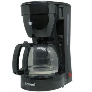 Cafeteira Elétrica 14 Xícaras Amvox ACF227 NEW Preta 220V