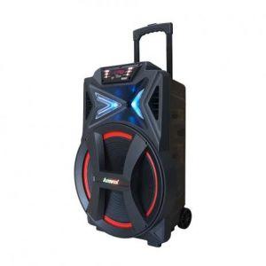 Caixa Amplificada Amvox ACA501 500W Bluetooth USB FM
