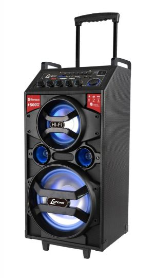 Caixa Amplificada Lenoxx Power Bluetooth Ca 318 500w Bivolt