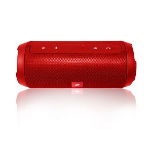 Caixa de Som Portatil Speaker Bluetooth Pure Sound SP-B150 C3Tech Vermelho