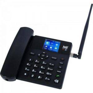 Celular de Mesa Fixo Rural BedinSAT BDF-12 3G - funciona com todas as operadoras - Android 4.4.2 - com roteador Wi-Fi