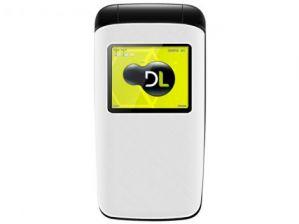 Celular DL YC330 Flip Dual Chip Câmera Digital Rádio FM MP3 Micro SD Bateria de Longa Duração Branco