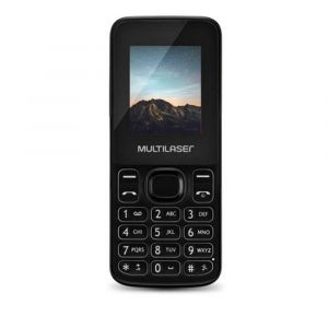 Celular New Up Dual chip com câmera e Bluetooth MP3 Branco Multilaser - P9033