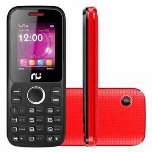 Celular Riu R200 Desbloqueado Radio 2 Chips Preto/Vermelho