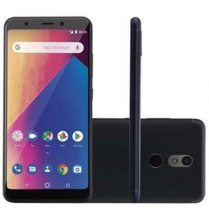 Celular Smartphone Multilaser MS60X NB737 4G 16GB Tela 5,7 Android 8.1 Preto