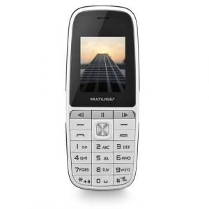 Celular UP Play Dual Chip MP3 com Câmera Branco Multilaser P9077