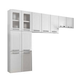 Cozinha Compacta Bertolini Múltipla 11 Portas Branco
