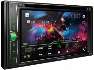 DVD Automotivo Pioneer AVH-A208BT 6,2 Bluetooth - 23W RMS