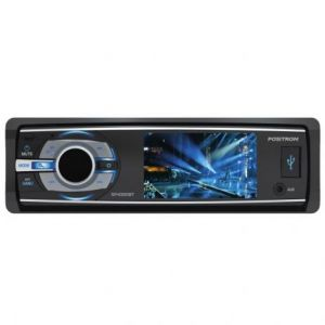 DVD Player Automotivo Positron SP4340BT Tela 3 Bluetooth USB AUX AM/FM c/ Controle