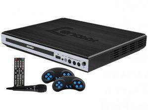 DVD Player Lenoxx DK 420 Função Karaokê Game Conexão USB Microfone