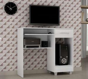Mesa para Computador Magno Zambee Branco