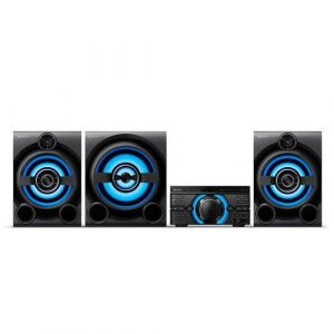 Mini System Sony MHC-M80D 2150 W RMS 2 Caixas Subwoofer M80D