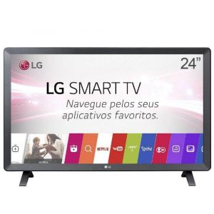 Monitor TV LED 23.6 LG Smart 24TL520S-PS Wi-Fi DTV 2 HDMI 1