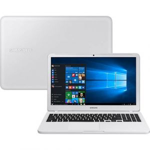 Notebook Essentials E30 Intel Core I3 4GB 1TB LED Full HD 15.6 W10 Branco Ônix Samsung