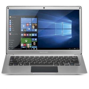 Notebook Legacy Air Intel Dual Core Windows 10 4GB Tela Full HD 13.3 Pol. Prata Multilaser - PC205