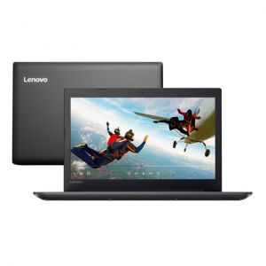 Notebook Lenovo Ideapad 320 Celeron N3350 4GB 1TB Windows 10 15.6 81A30000BR'' - Preto