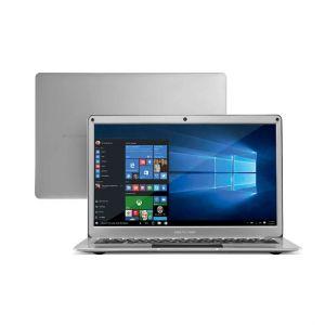 Notebook Multilaser Legacy Air PC222 Intel Celeron 4GB 64GB 13.3 Full HD Windows 10 Prata