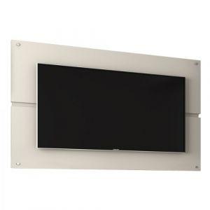 Painel Bechara Móveis Creta para TV até 50 polegadas Off White