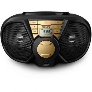 Rádio Boombox Philips Px3115gx Usb Preto Com Dourado 220V