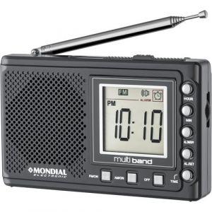Rádio Portátil Mondial Multi Band II Bivolt RP-04 - Grafite
