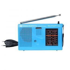 Rádio Portátil Motobras AM/FM PSMP71AC Azul