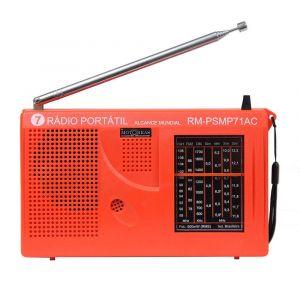 Rádio Portátil Motobras AM/FM PSMP71AC Laranja