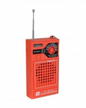 Rádio Portátil Motobras AM/FM RMSMP-32 Laranja