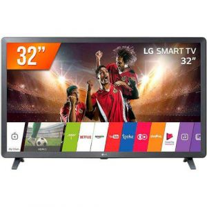 Smart TV LED 32 LG 3 HDMI 2 USB Wi-Fi Conversor Digital 32LK611C