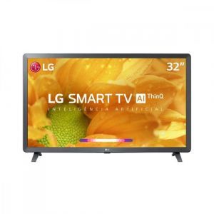 Smart TV LED 32 LG HDR Ativo, Virtual Surround Sound, Wi-Fi, Inteligência Artificial, ThinQ AI