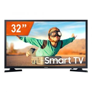 Smart TV LED 32 Samsung LH32BETBLGGXZD HD 2 HDMI USB Wifi
