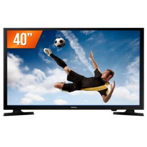 Smart TV LED 40 Full HD Samsung LH40RBHBBBG/ZD 2 HDMI USB Wi-Fi Integrado Conversor Digital
