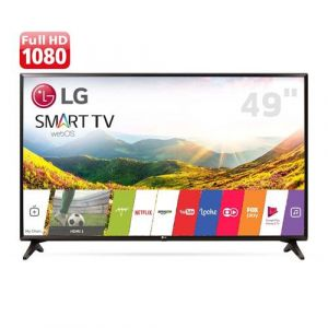 Smart TV LED 49 Full HD LG 49LJ5550 com Painel IPS, Wi-Fi, WebOS 3.5, Time Machine Ready, Magic Zoom, Quick Access, HDMI e USB