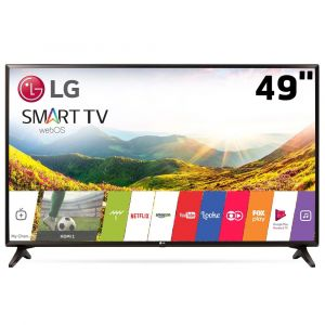Smart TV LED 49 LG 49LJ5550 Full HD com Painel IPS, Wi-Fi, WebOS 3.5, Time Machine Ready, Magic Zoom, HDMI e USB